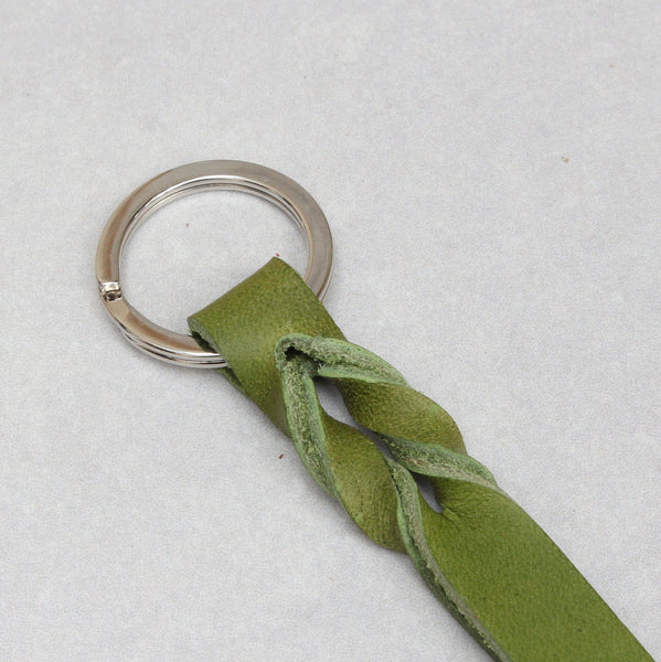 Twist Keyring - Small - Lime