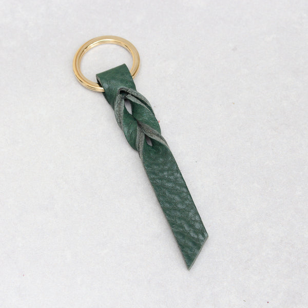 Twist Keyring - Small - Green Tumblegrain