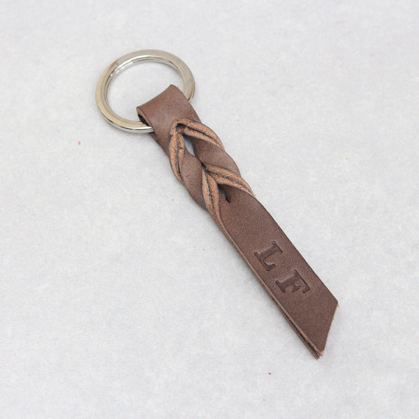 Twist Keyring - Small - Red Tumblegrain