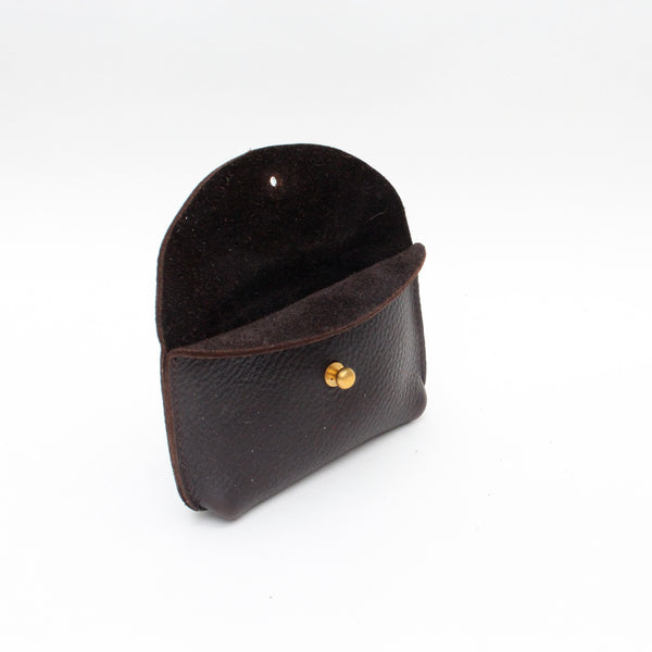 Hebden Coin Pouch - Dark Brown Cruiser