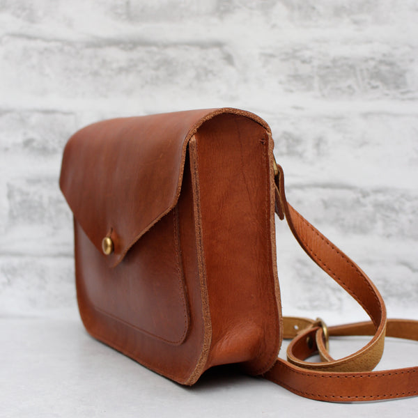 SALE - Small Fawley Satchel, Tan