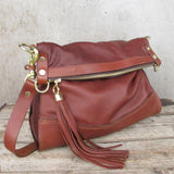 Delilah  Crossbody  Bag - Tan