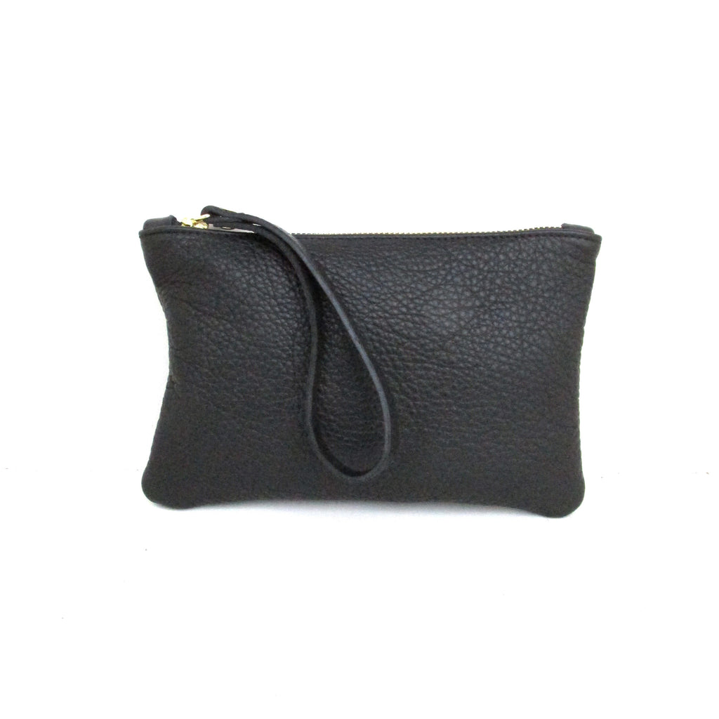 Moreton Leather Pouch - Black