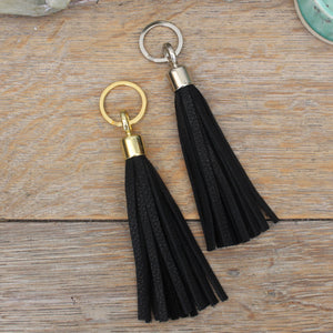 Swinbrook Tassel Keyring - Leather