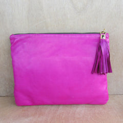 SALE - Betsy Clutch, hot pink