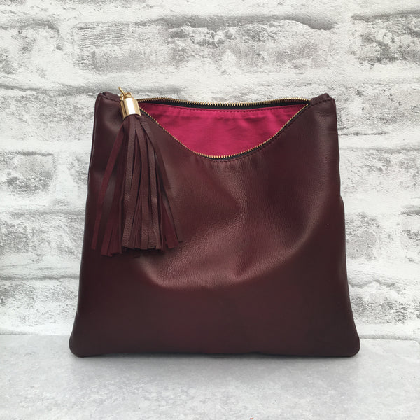 Betsy Midi - Bordeaux Leather