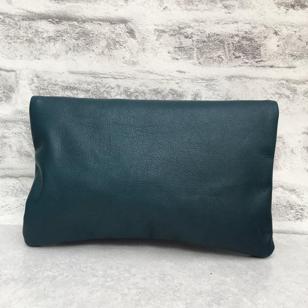 SALE - Betsy Midi, Teal Leather