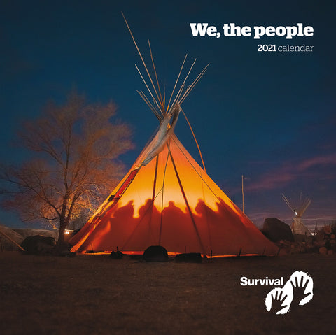 "Calendario 2021 ""We, The People"""