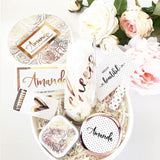 custom bridesmaid basket