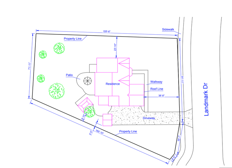 Medium Detail Site Plan