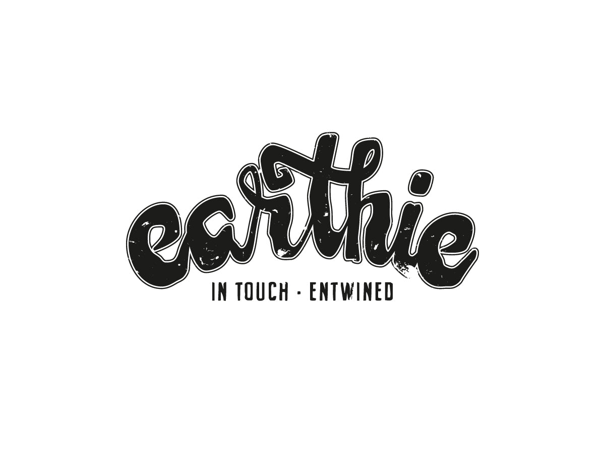 Earthie – Mens Singlet – Dark Heather Grey – Small Logo Front - Earthie