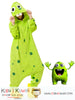 New Funny Energetic Two-Teeth Green Monster Adult Kigurumi Costume Onesie KK296 - Kigu Kawaii | Buy Kigurumi, Animal Pajamas & Animal Costumes on Kigurumi Store - Welcome  - 1