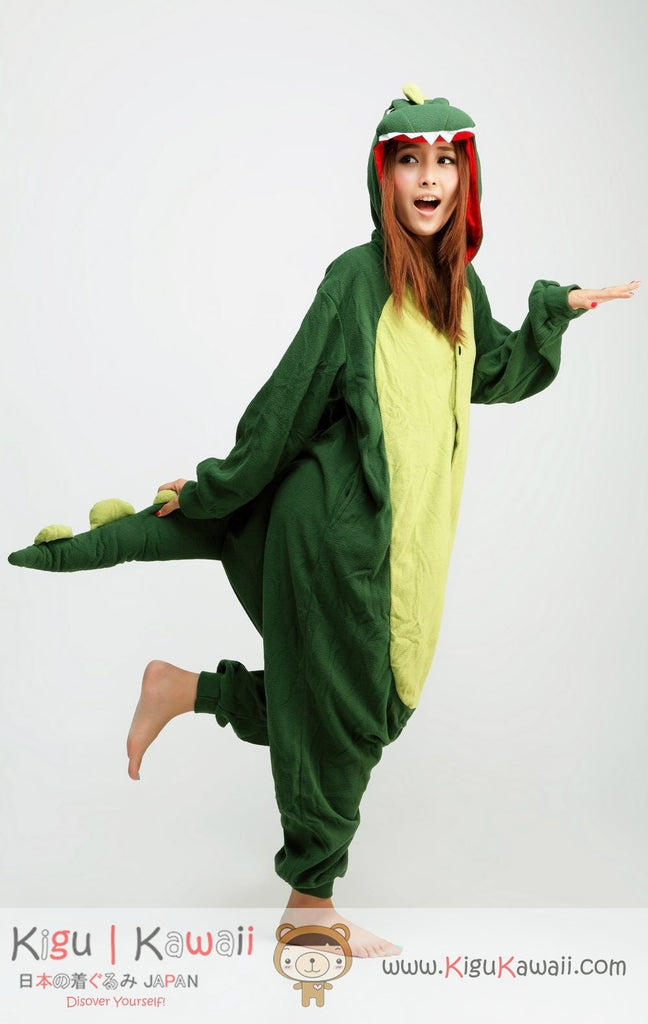 54397467011e Dinosaur Animal Adult Kigurumi Onesie 恐龍 - Kigu Kawaii