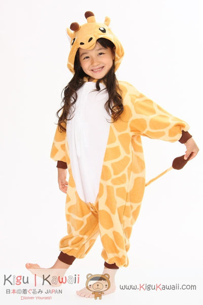 Giraffe Kids Animal Kigurumi Onesie