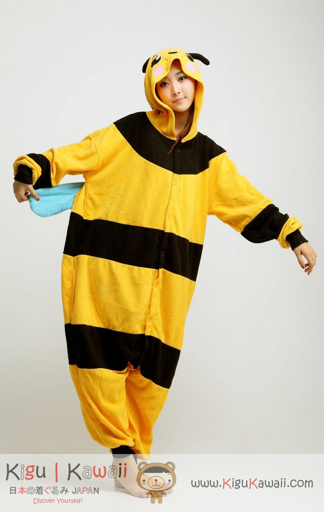 2ac722688e06 Bee Animal Adult Kigurumi Onesie - Kigu Kawaii