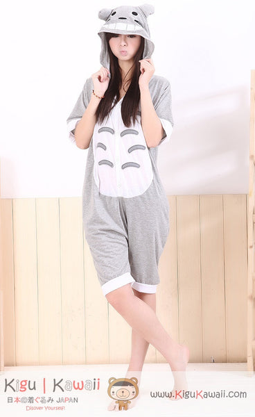Totoro Adult Spring and Summer Kigurumi Onesie