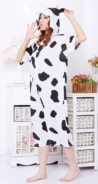 Cow Animal Adult Spring and Summer Kigurumi Onesie