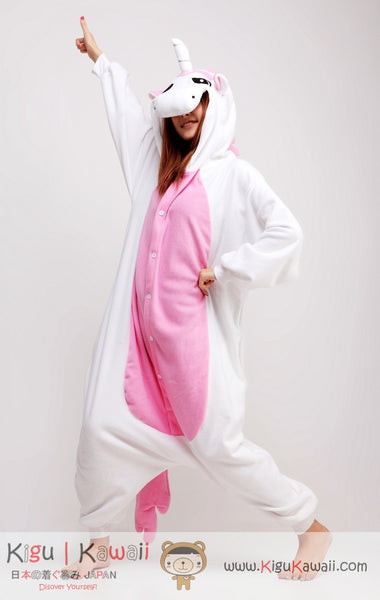 Pink Unicorn Animal Adult Kigurumi Onesie
