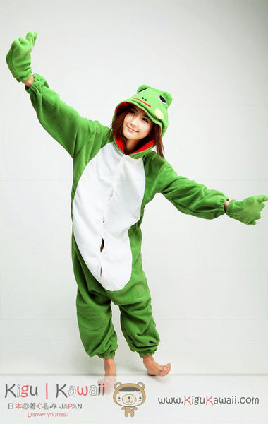 Frog Animal Adult Kigurumi Onesie