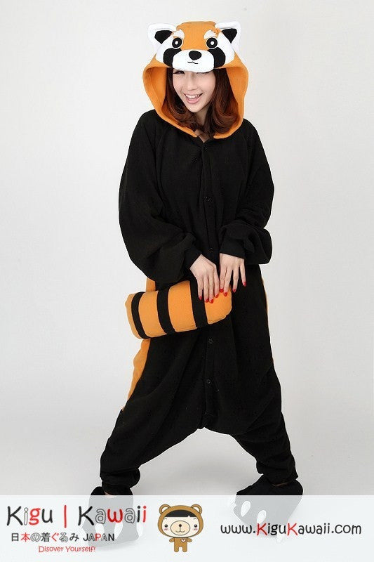 Racoon Red Panda Animal Adult Kigurumi Onesie 9918ad22cd8c1
