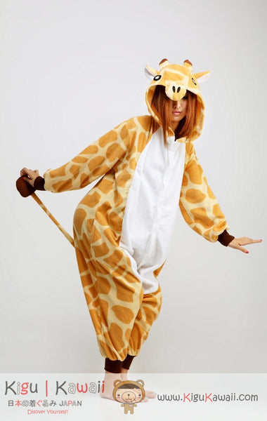 Giraffe Animal Adult Kigurumi Onesie 長頸鹿