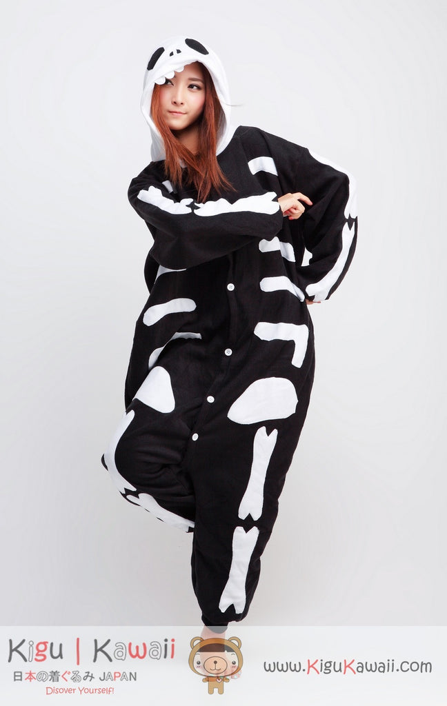 870427b907be Skeleton Animal Adult Kigurumi Onesie - Kigu Kawaii | Buy Kigurumi, Animal  Pajamas & Animal