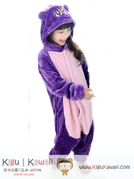 New Daine Cat Animal Character Kids Kigurumi Pajama Onesie KK258