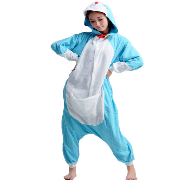 New Doremon Adult Unisex Winter Kigurumi Onesie