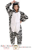 New Fantastic Zebra Adult Animal Winter Kigurumi Fleece Onesie KK849 - Kigu Kawaii | Buy Kigurumi, Animal Pajamas & Animal Costumes on Kigurumi Store - Welcome  - 1