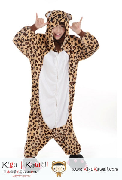 Lepoard  Adult Animal Kigurumi Onesie