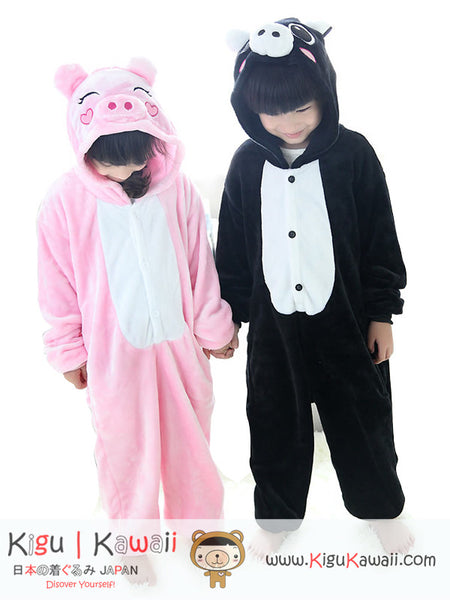 New Pig Animal Character Kids Kigurumi Onesie 2 Colors KK272