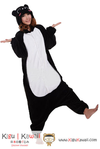 Black Pig Animal Adult Kigurumi Onesie 黑豬