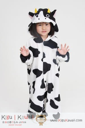 5d9955baf5fd Cow Animal Kids Kigurumi Onesie