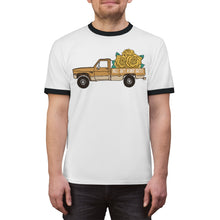 Load image into Gallery viewer, Truckin' with Goldie - Unisex Ringer Tee