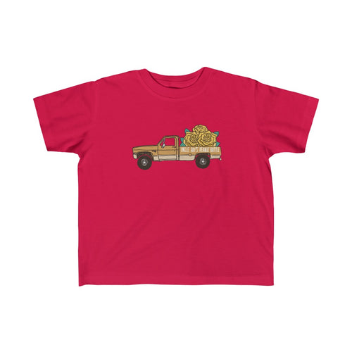 Let's Get Truckin' with Goldie! - Jersey Tee for Toddlers
