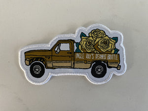 Truckin' with Goldie -  Iron On Patch