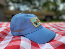 Load image into Gallery viewer, Light Blue Baseball Cap - Truckin' with Goldie