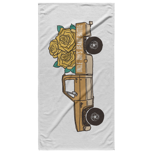 The Goldie - Beach Towel