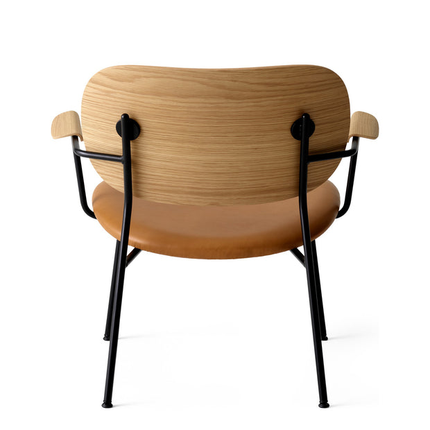 Menu Křeslo Co Lounge Chair, Black / Natural Oak / Dakar 250 - DESIGNSPOT