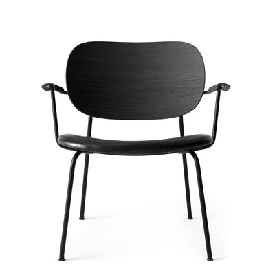 Menu Křeslo Co Lounge Chair, Black / Black Oak / Dakar 842 - DESIGNSPOT