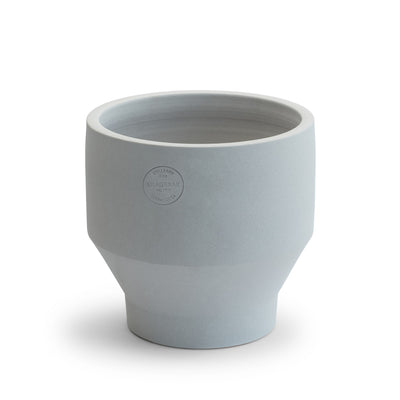Skagerak Květináč Edge Pot Ø18, Light Grey - DESIGNSPOT