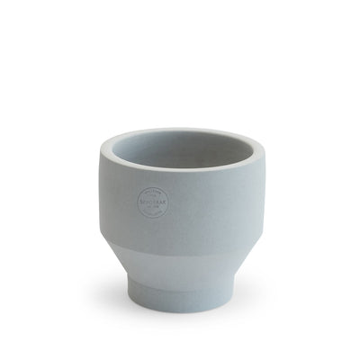 Skagerak Květináč Edge Pot Ø15, Light Grey - DESIGNSPOT