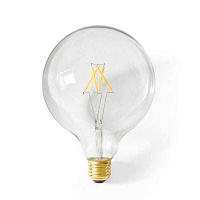 Menu Žárovka Globe Bulb LED, 125 mm, Clear - DESIGNSPOT