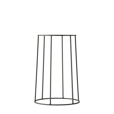 Menu Podstavec Wire Base 40 cm, Black - DESIGNSPOT