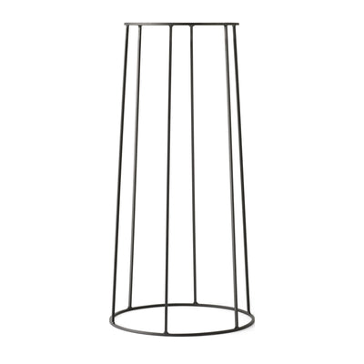 Menu Podstavec Wire Base 60 cm, Black - DESIGNSPOT