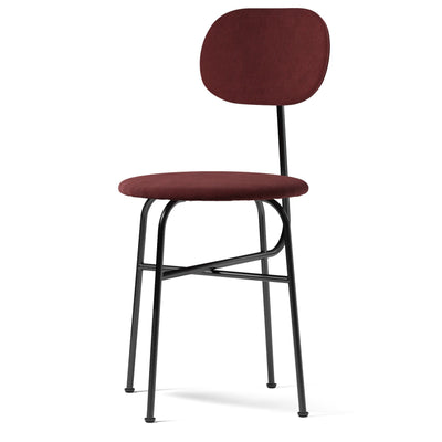 Menu Židle Afteroom Dining Chair Plus, Black Steel / Fiord 581 - DESIGNSPOT