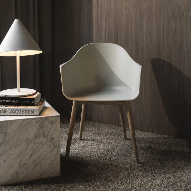 Menu Židle Harbour Chair, Natural Oak / Light Grey - DESIGNSPOT