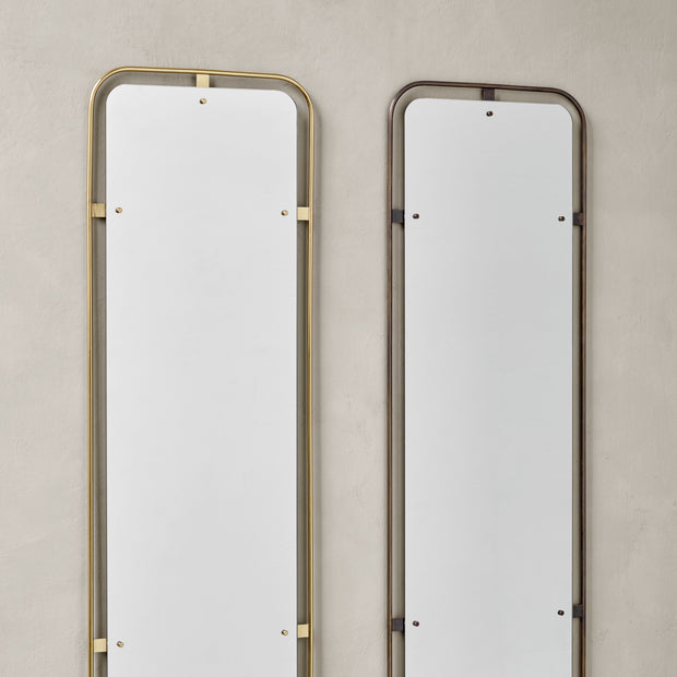 Menu Nástěnné zrcadlo Nimbus Mirror, Rectangular, Polished Brass - DESIGNSPOT