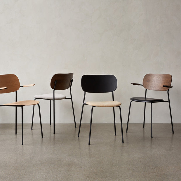 Menu Židle Co Chair, Black / Black Oak - DESIGNSPOT