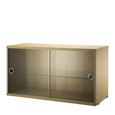 String Skříňka Display Cabinet, Oak - DESIGNSPOT